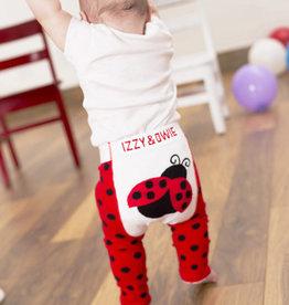 Red & Black Ladybug Leggings