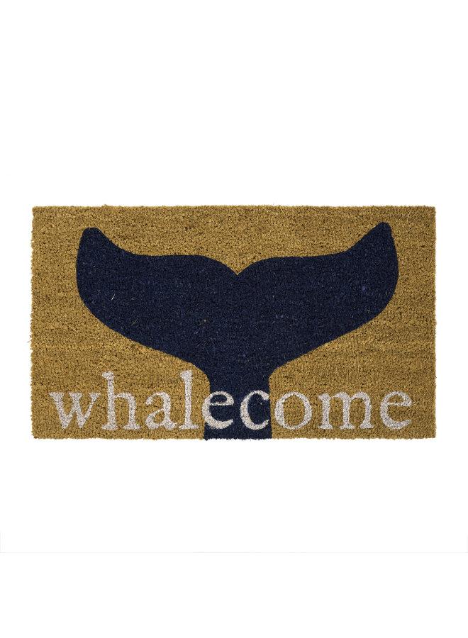 Doormat  Whalecome