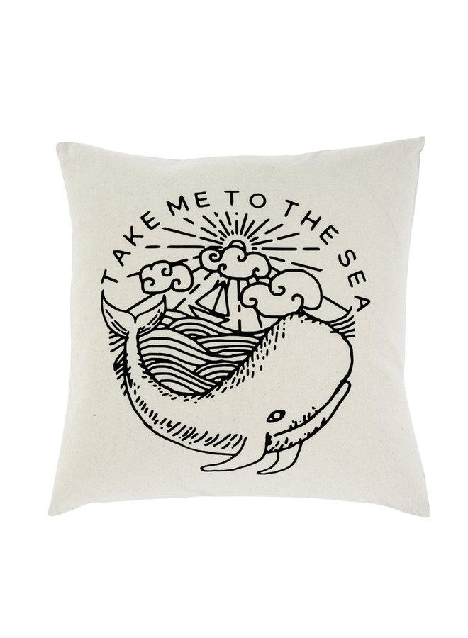 20x20 Cushion Take Me To The Sea