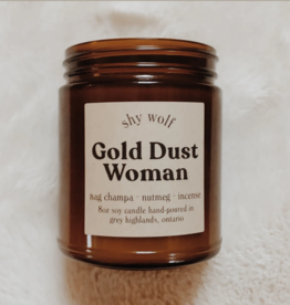 Rock and Roll Candle Gold Dust Woman