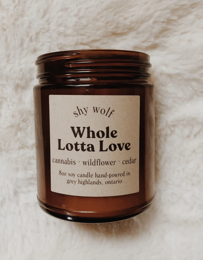 Rock and Roll Candle Whole Lotta Love