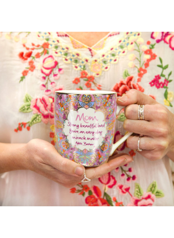Mom - 12 oz Cup with Gift Box