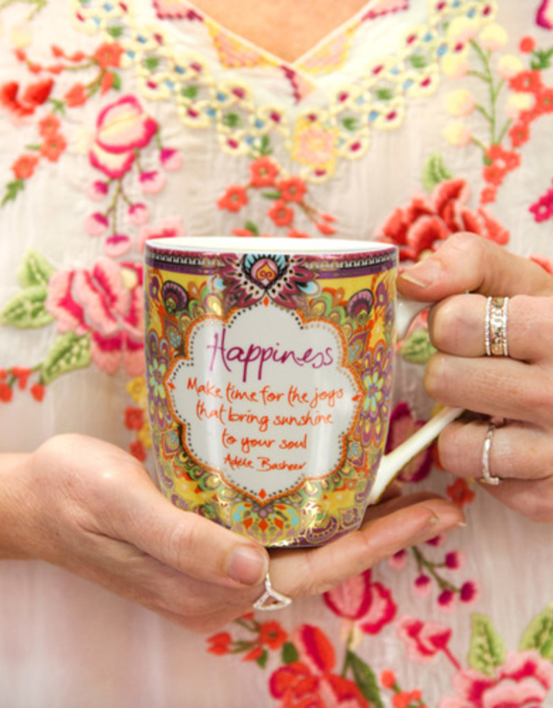 Happiness - 12 oz Cup with Gift Box