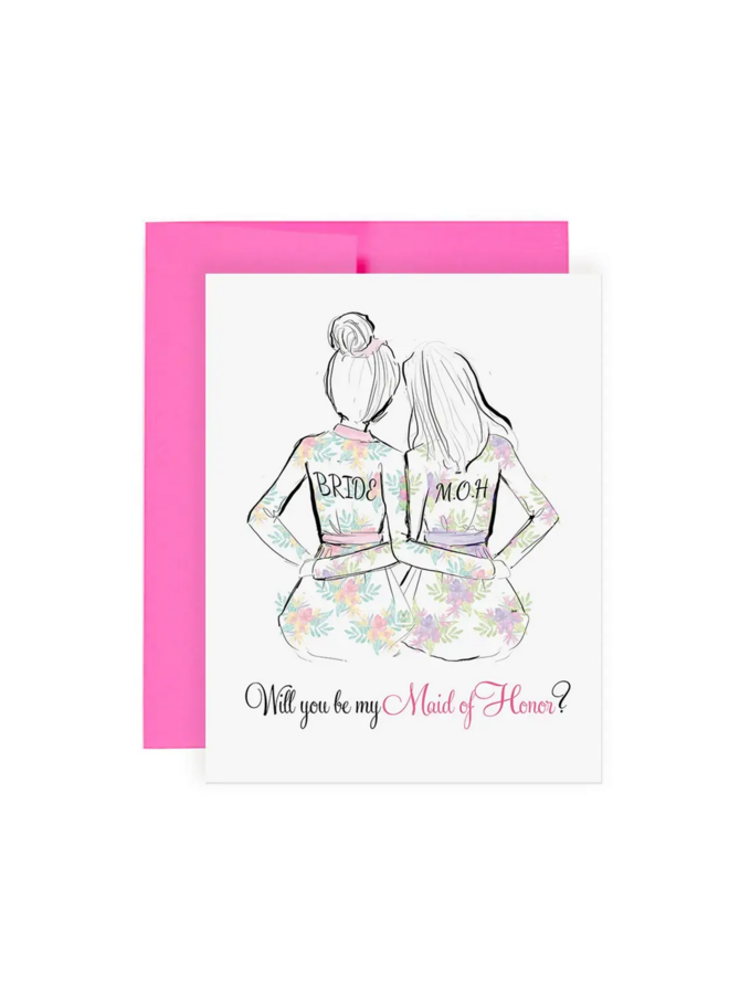 Greeting Card Maid of Honor
