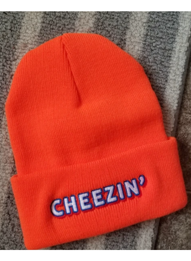 Cheezin Beanie Orange
