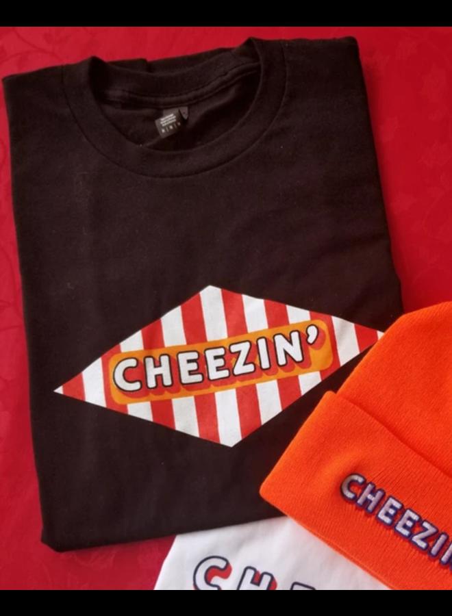 Cheezin' Logo Tee