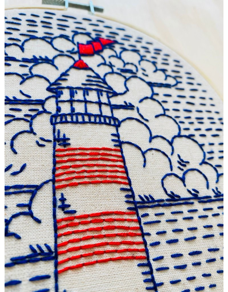 Lighthouse Embroidery Kit