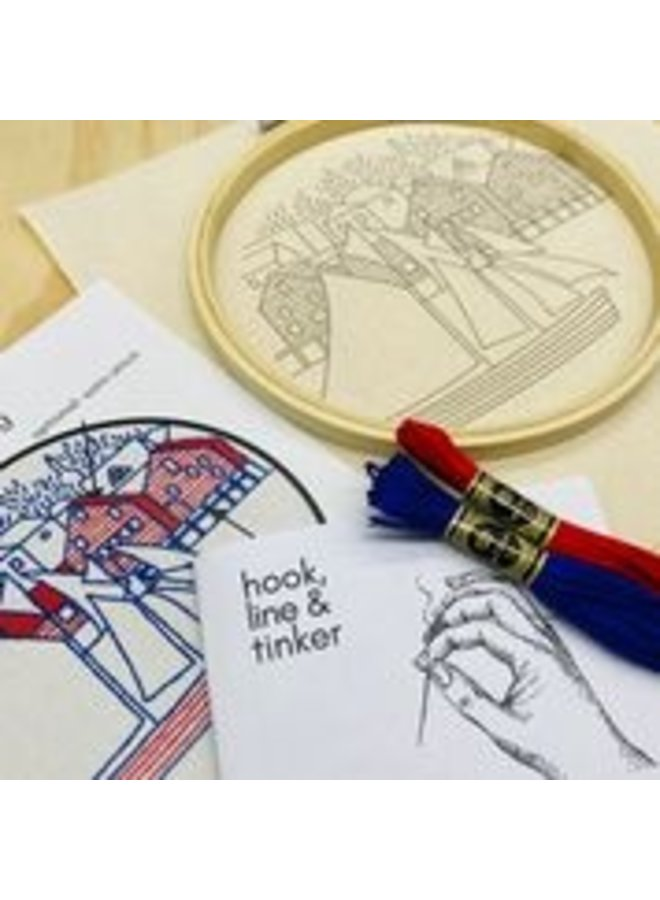 Lunenburg Embroidery Kit
