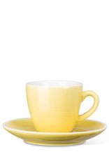 Yellow Diner Cup & Saucer
