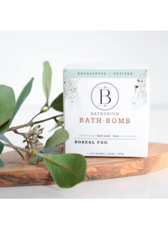 Boreal Fog Bath Bomb