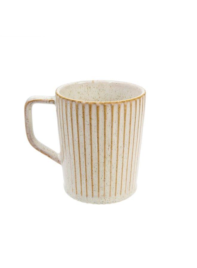 White Garibaldi Mug