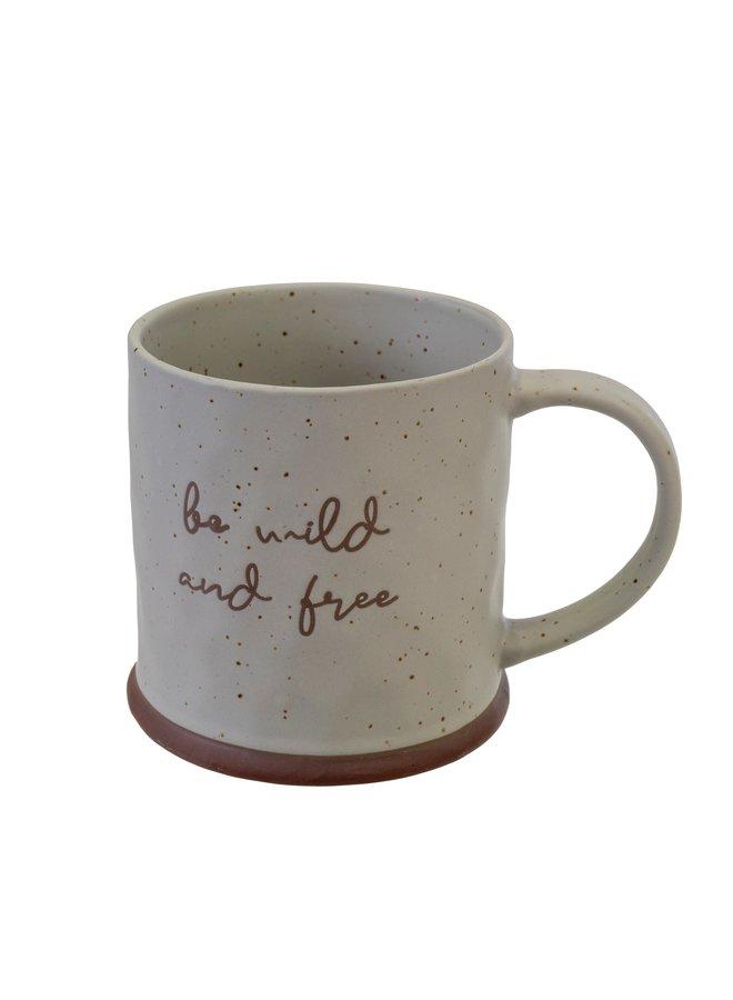 Be Wild and Free Mug