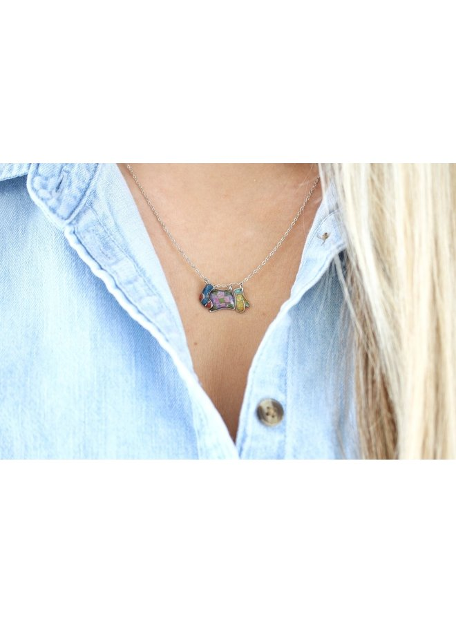 Clothesline Necklace