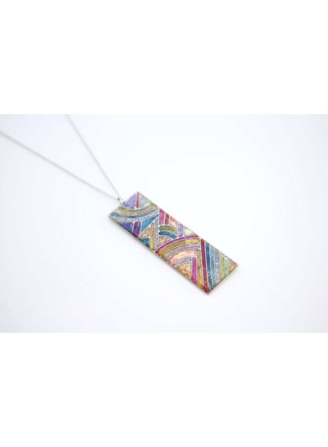 Neon Mural Necklace