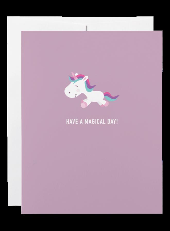 Classy Kids Birthday Greeting Card