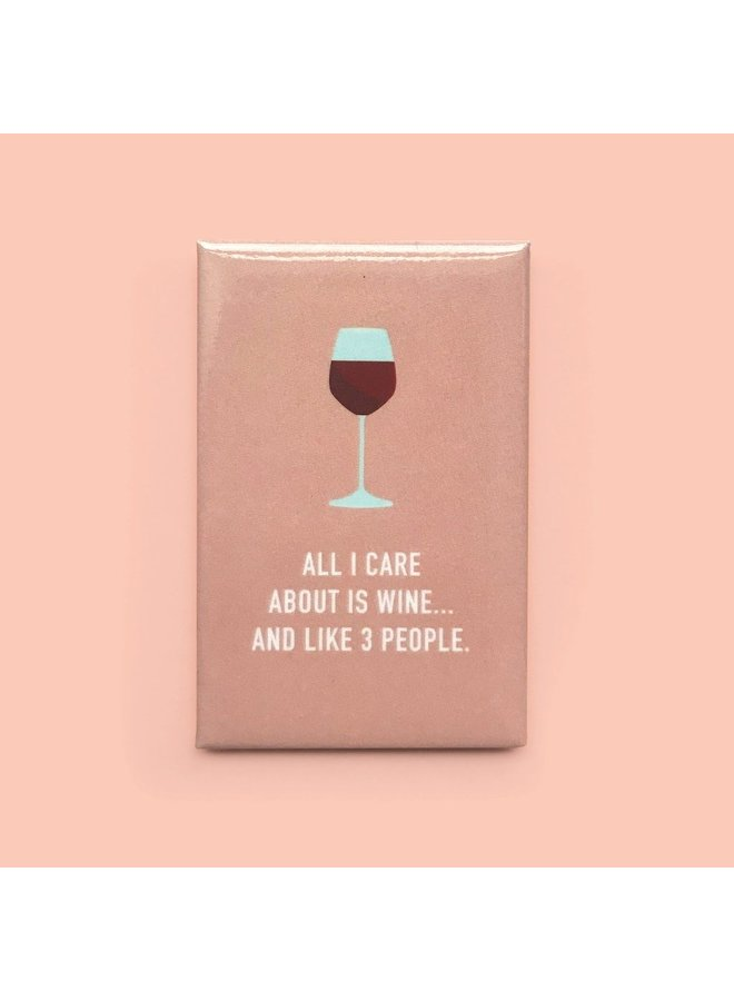 Classy Wine Magnet