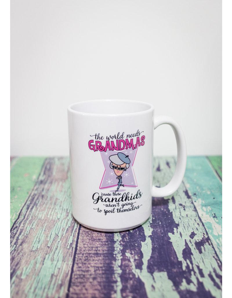 Coffee Mug (15oz) - The World Needs Grandmas