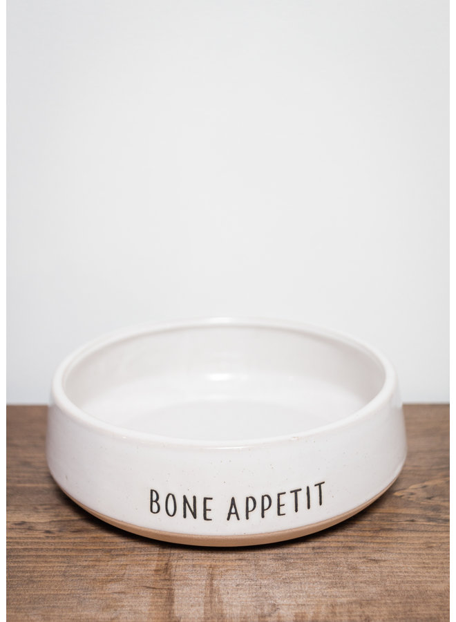 Bone Appetit Dog Bowl