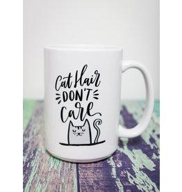 Coffee Mug Cat Hair Don't Care