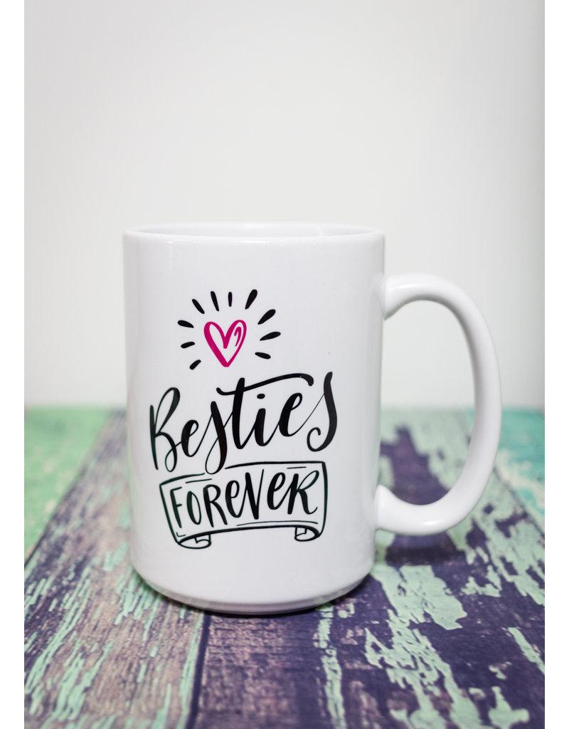Coffee Mug Besties Forever