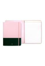 Colorblock Notepad Folio