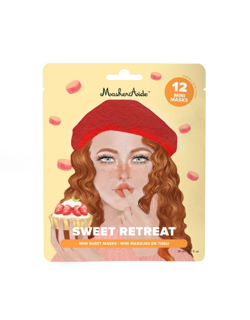Sweet Retreat Hydrating Dessert Mini Masks