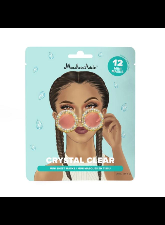 Crystal Clear Brightening Mini Masks