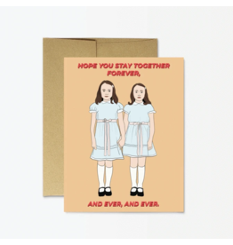 Shining Twins Forever And Ever Card