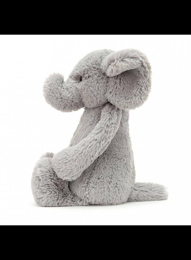 Bashful Medium Grey Elephant