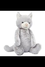 Bashful Little Grey Kitty