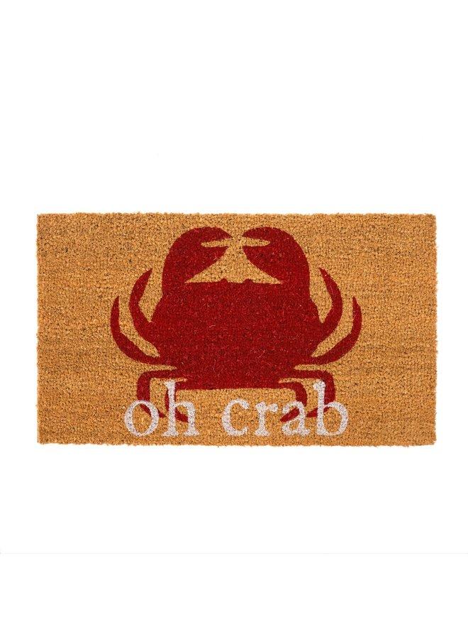 Oh Crab Doormat