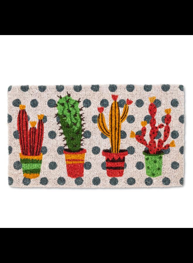 Cactus Garden Doormat