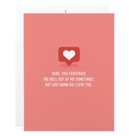 Classy Love Greeting Cards