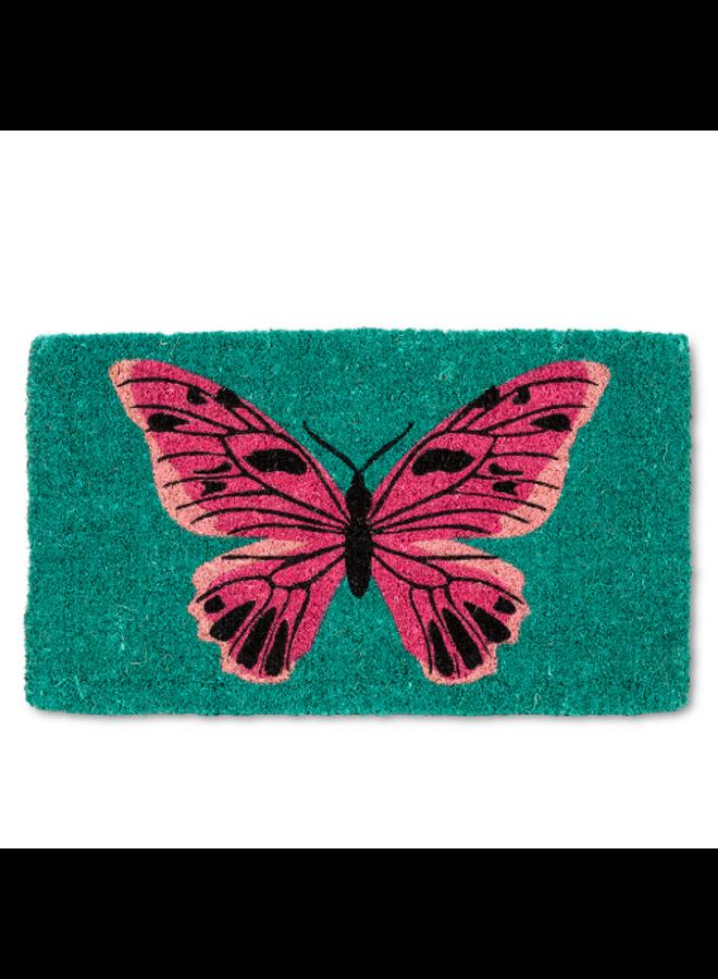 Bold Butterfly Doormat