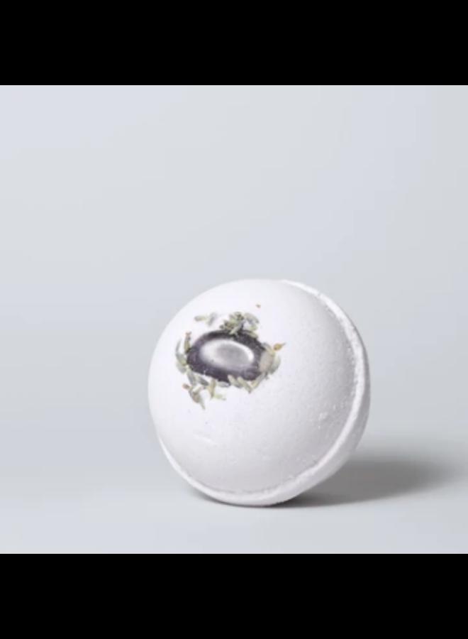 Amethyst + Lavender Bath Bomb
