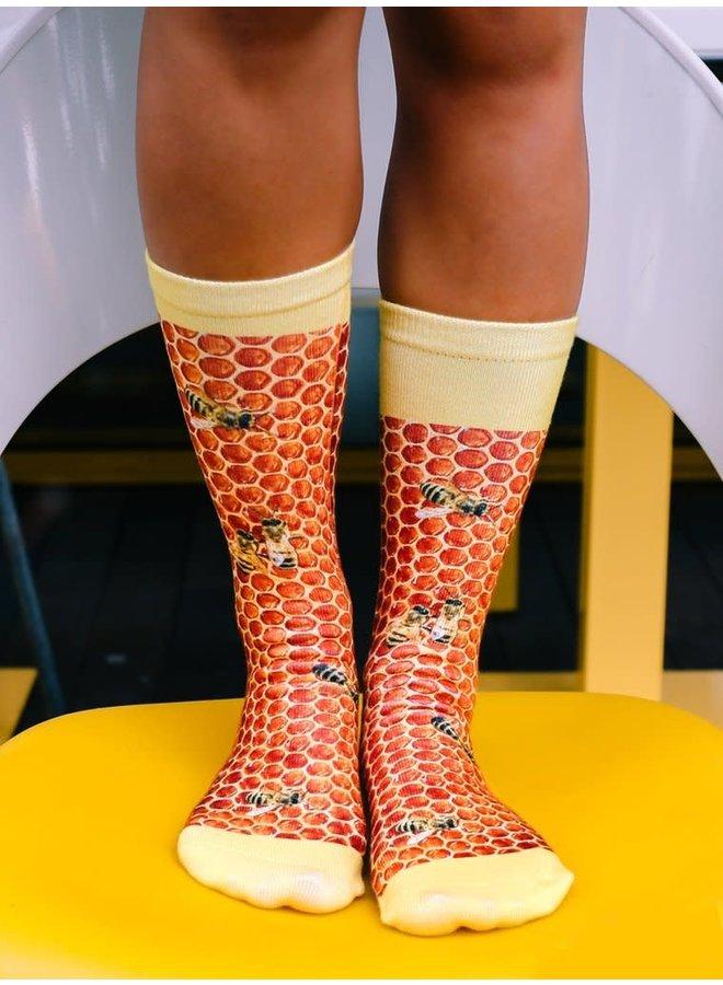 Crew Socks Honeycomb