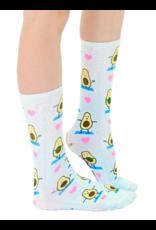 Crew Socks Avocado Yoga