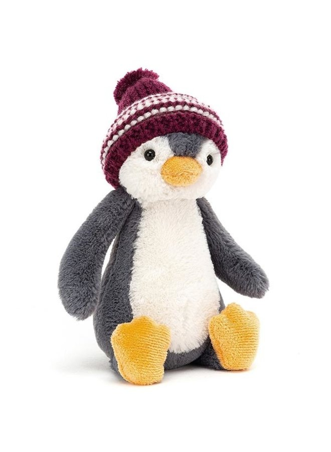 Bashful Bobble Hat Penguin