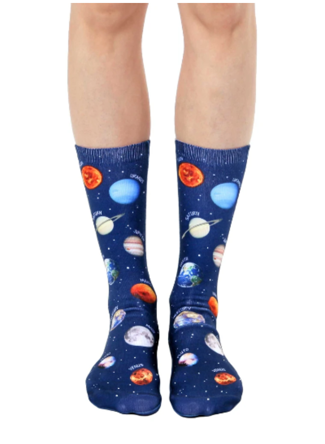 Crew Socks Planet