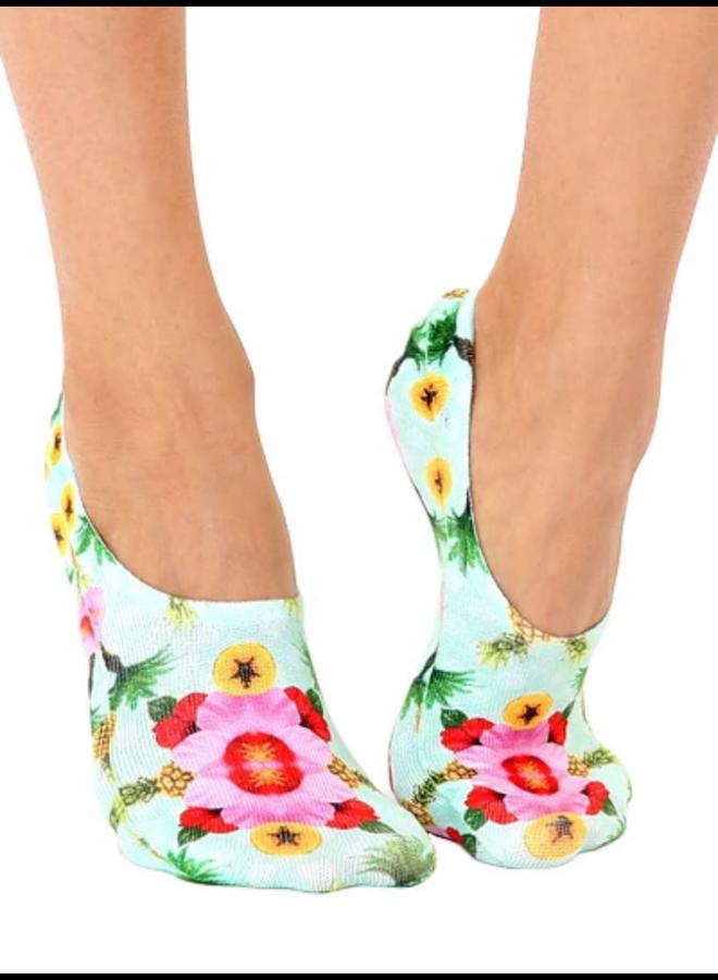 Liner Socks Hibiscus