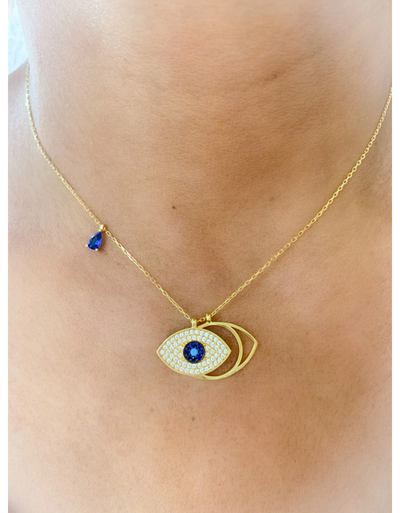 Guarded Eye Necklace