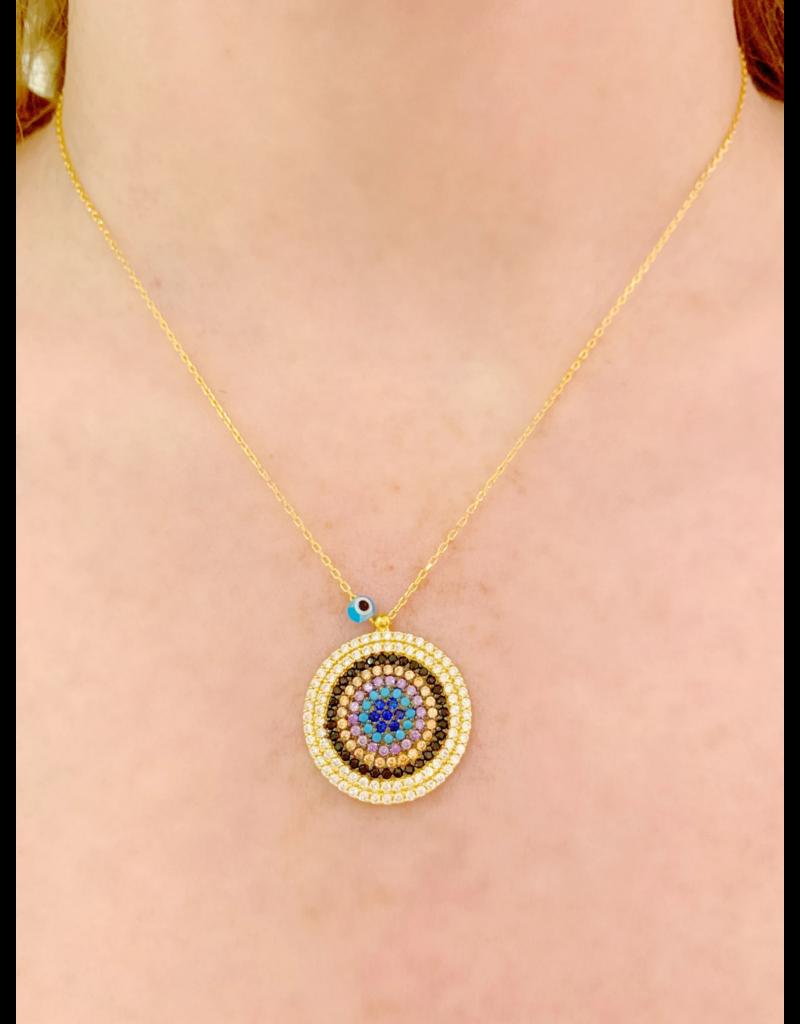 Medium Eye Necklace