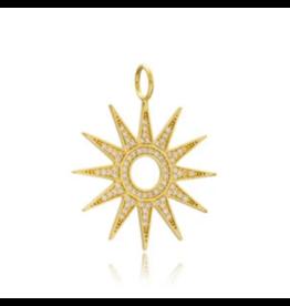 Goddess Sun Charm