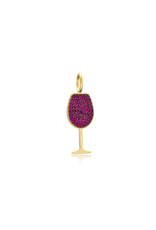 Red Wine Charm