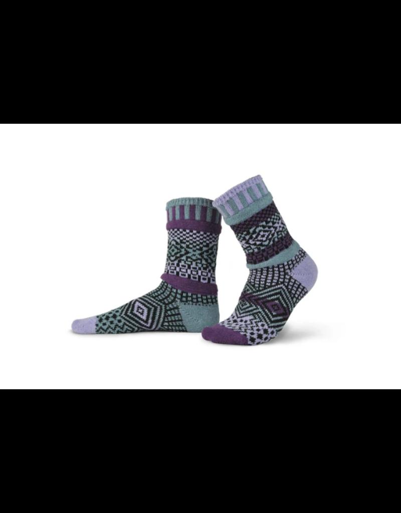 Wisteria Adult Crew Socks