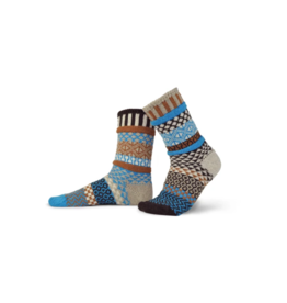 Walnut Adult Wool Crew Socks
