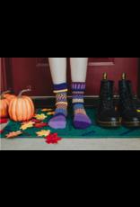 Purple Rain Adult Crew Socks