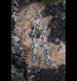 Cape Spear Labradorite Earrings
