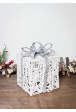 """6"""" White Light-up Gift Box"""