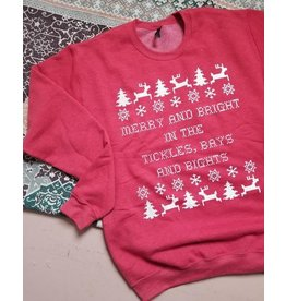 Red Merry & Bright Sweatshirt